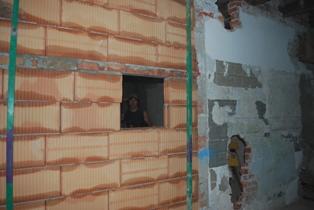 Fotos vom Umbau der Tauern-Apotheke Mittersill